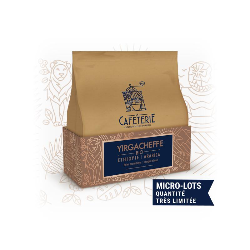 Yirgacheffe - café de spécialité - La Caféterie - Bio - existe en grain et moulu