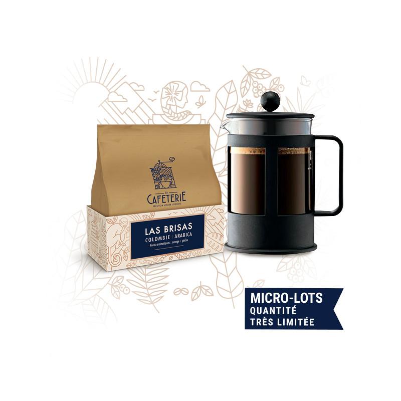 """kit """"my slow coffee"""" - la caféterie, création atelier Lobodis"""