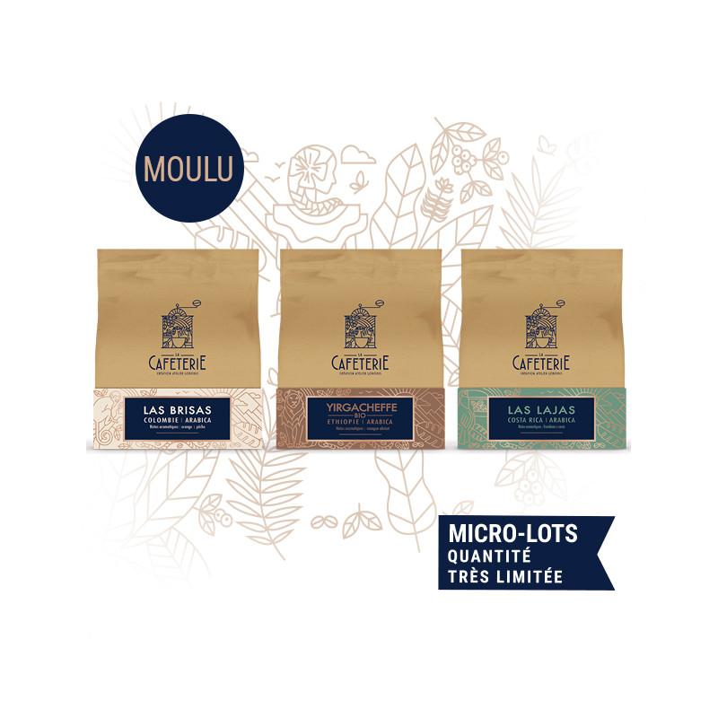 Speciality Coffee Lover - 3 cafés de spécialités moulus - la caféterie