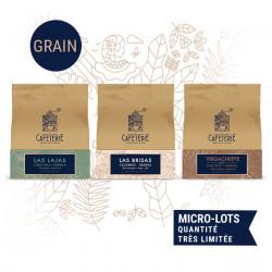 Speciality Aficionados - 3 cafés de spécialités grains - la caféterie