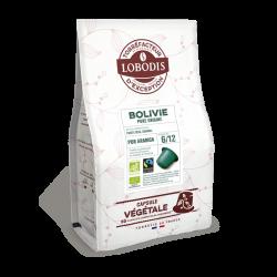 50 capsules café Bolivie végétales pour les entreprises