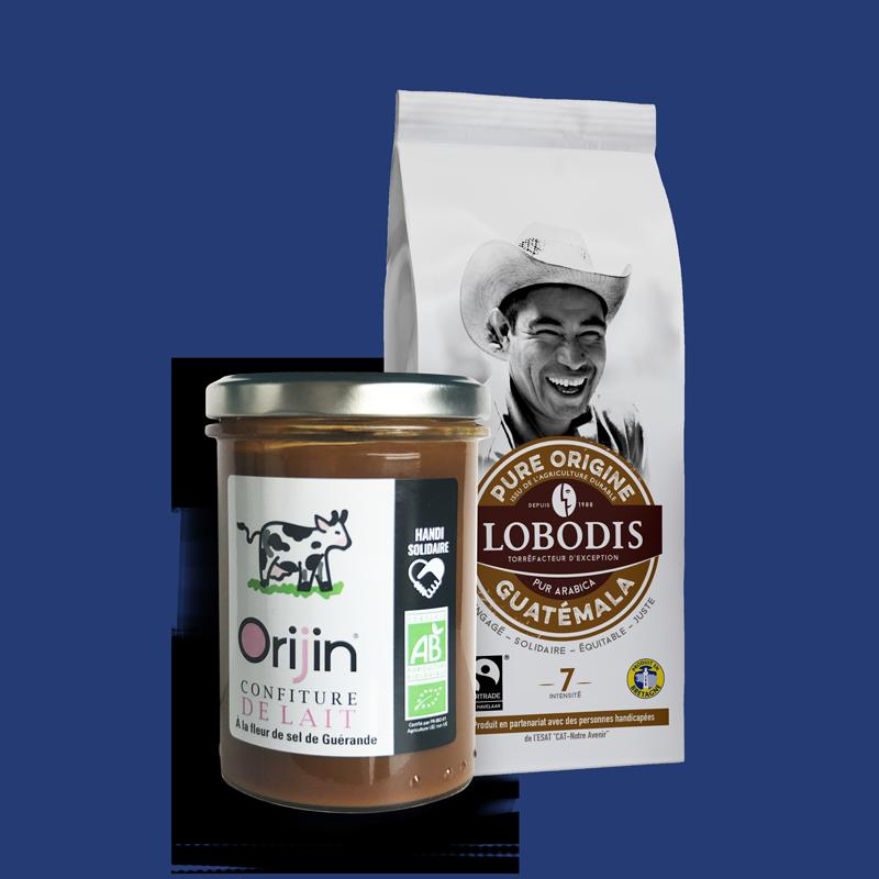 Lobodis - Duo café guatemala - confiture lait