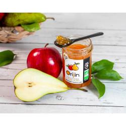 confiture Orijin® pomme poire miel bio - credit ©ameliegraphie