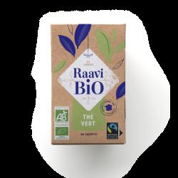Thé vert Raavi Bio