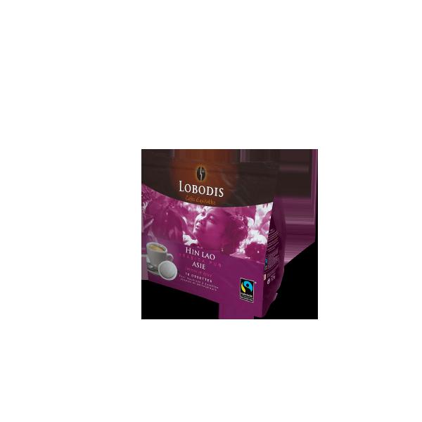 dosettes souples de café pour machine type senséo origine Asie Blend
