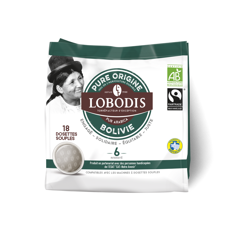Dosettes souples BOLIVIE Arabica Pure Origine