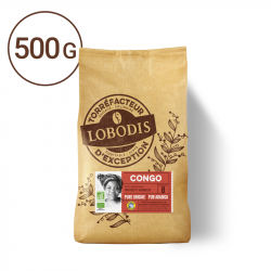 Lobodis café grains pure origine congo