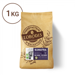 Café Bio Arabica Grains -...